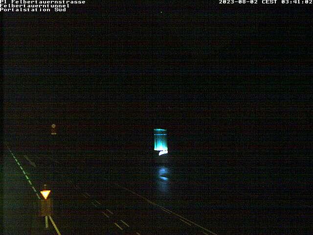Wetter, Livebild, Livebild, Livecam und Webcam Felbertauern Südportal - 1632 Meter Seehöhe