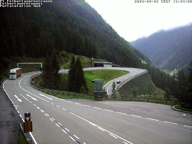 Webcam Livebild Südportal - Felbertauernstraße